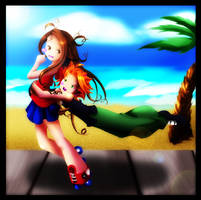 Rhies' wild ride +Retaliation+ by Shironotenshi
