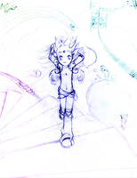Stairway to Heaven +Sketch+ by Shironotenshi