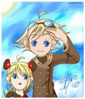 Al and Klaus by Shironotenshi