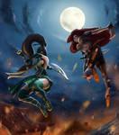 League of Legends - Akali vs Katarina