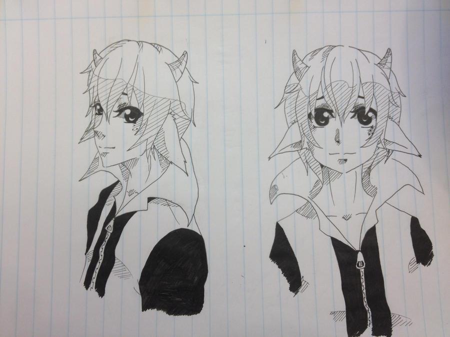 Sasha sketch by o0Aiko-Chan0o