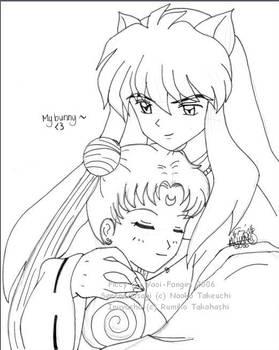 +Inuyasha and Usagi+