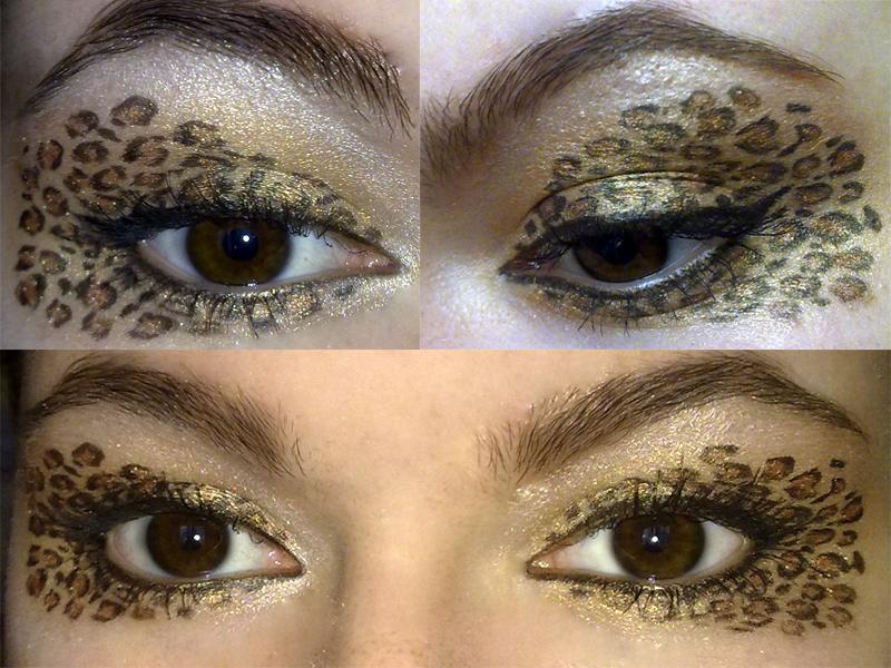 Leopard print makeup look by KatelynnRose on DeviantArt