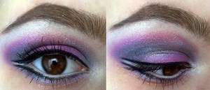 pink, purple and grey by KatelynnRose
