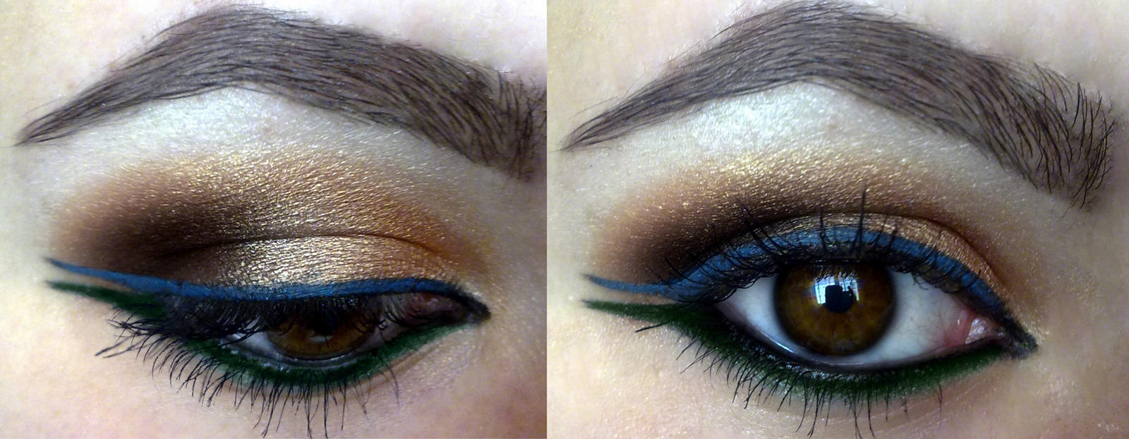 Indian inspired makeup look :D by KatelynnRose