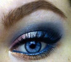 makeup for blue eyes by KatelynnRose