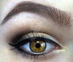 makeup for hazel eyes :D