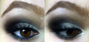 Basic smokey eye :D