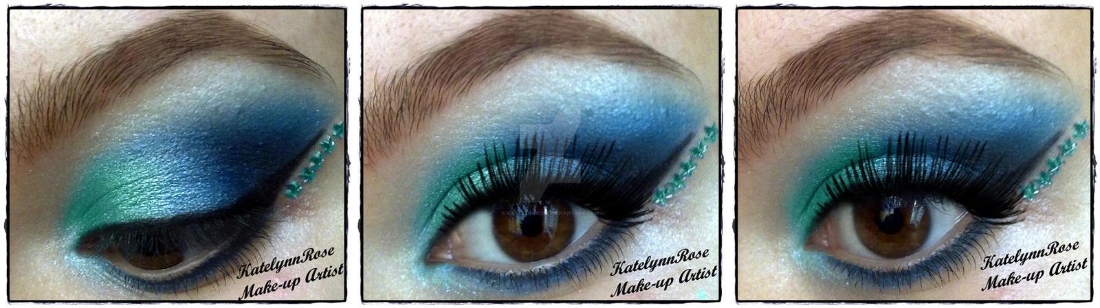 maybelline sapphire siren :D by KatelynnRose