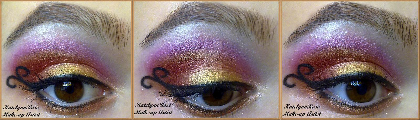 Aries make-up inspired by KatelynnRose