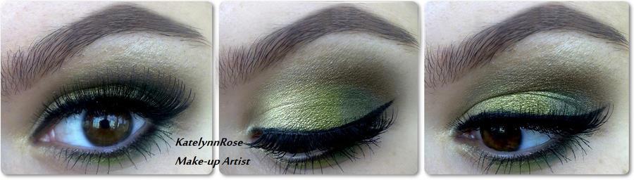 Green Ardell Lashes by KatelynnRose