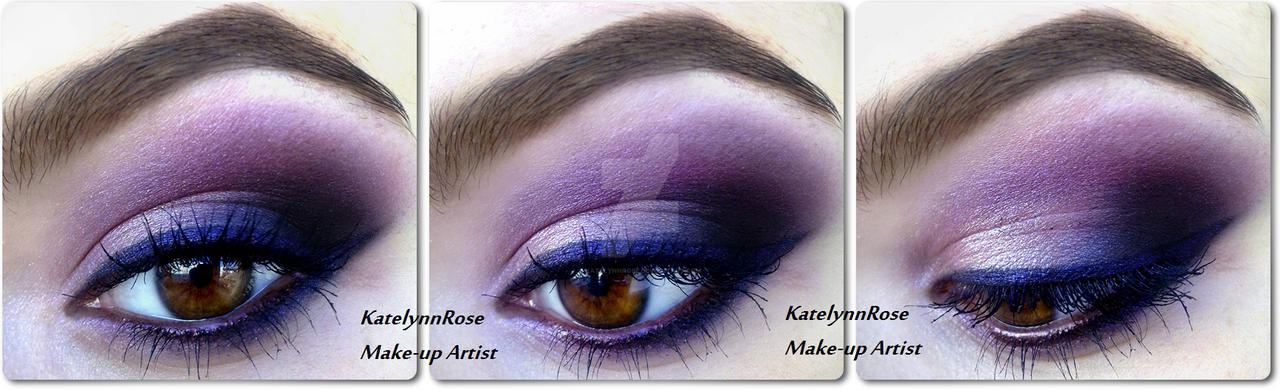 New year's eve make-up look by KatelynnRose