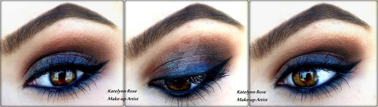 MAC Blue Brown Smokey by KatelynnRose
