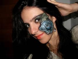 Blue Rose by KatelynnRose