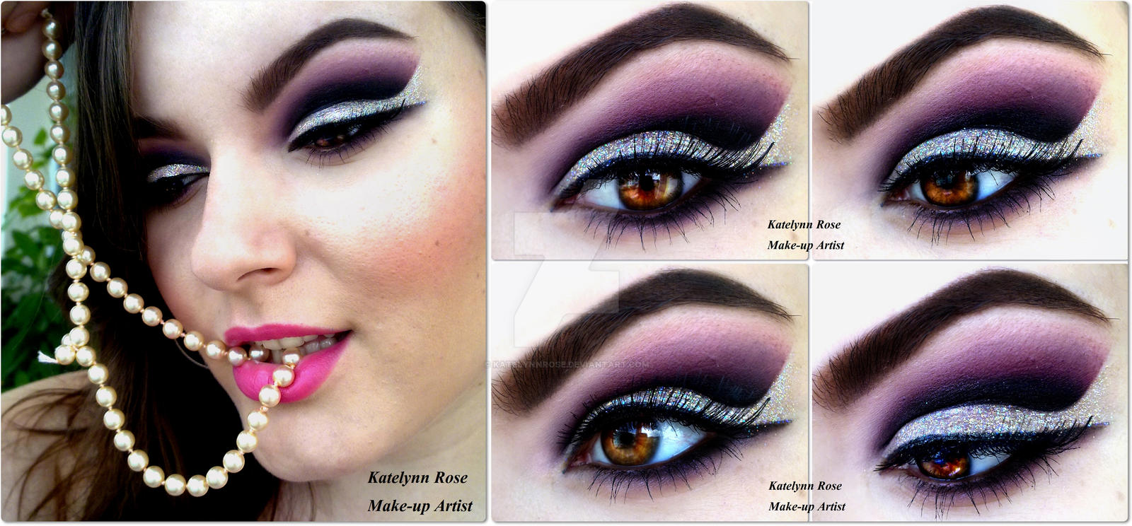 Purple Glam by KatelynnRose