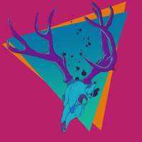 Deer Skull by kongyouyang