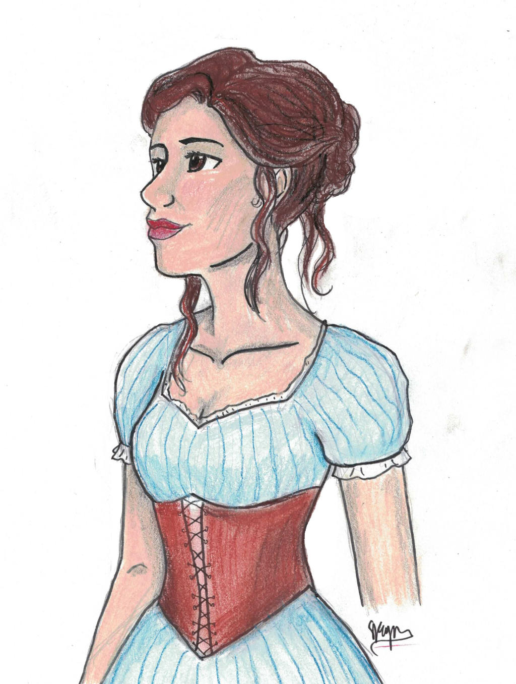 Tessa Gray by SKPartist on DeviantArt