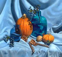 The Autumn Bounty by DavidHoffrichter