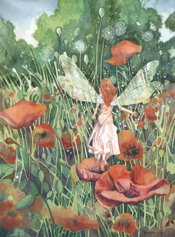 The Poppy Fairie by DavidHoffrichter