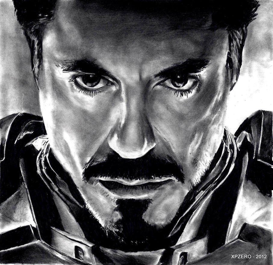 Tony Stark - Iron Man by xpzero