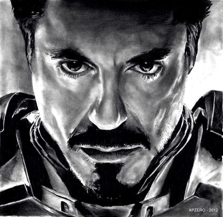 Tony Stark - Iron Man by xpzero