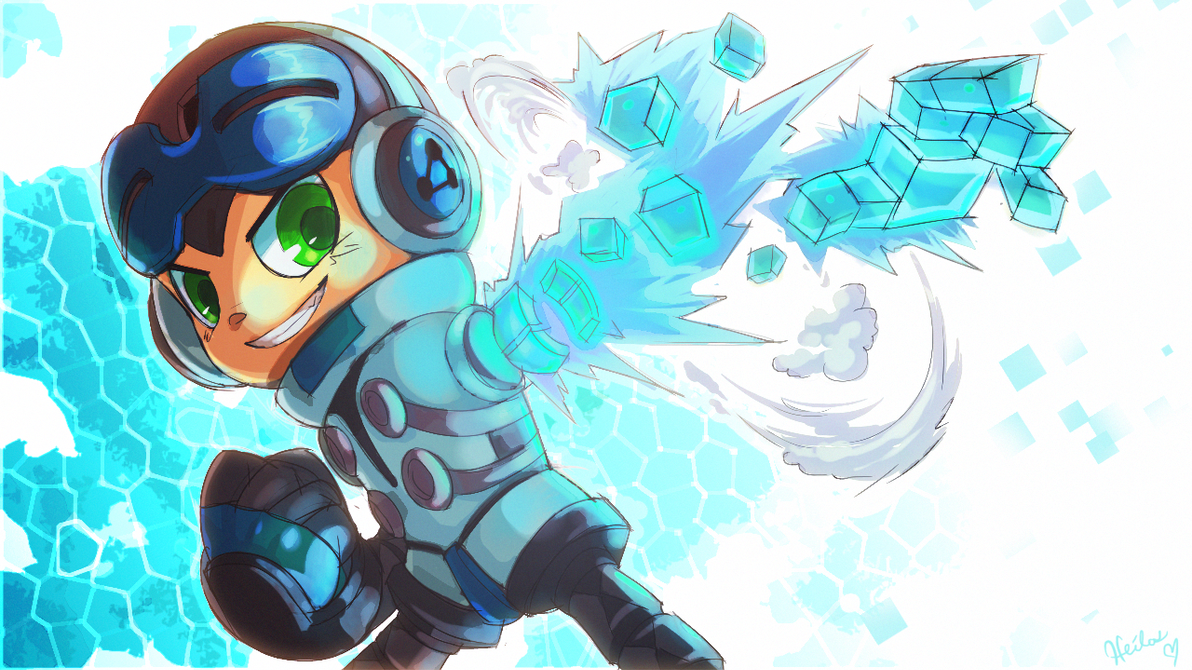 The Mighty No. 9 BECK by Heilos