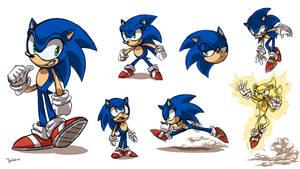 Sonic Sketch Sheet