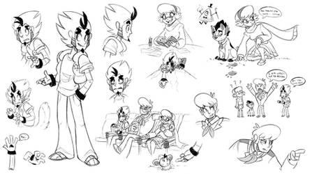 MSA Stream Doodles by Heilos