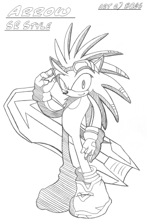 sonic riders coloring pages - photo#25