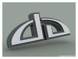 DA logo 3d by Alzarys