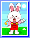 Conby Bunny in Beach