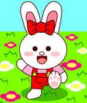 Line Cony Bunny