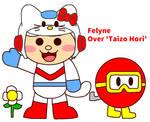 Felyne OC Fake (Dig Dug Fanart)