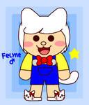 (OCs is Fake) Felyne 1