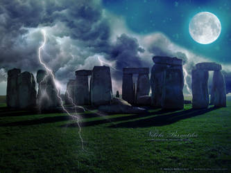 Stonehenge apocalypse by Amitielik
