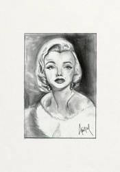 Marilyn Monroe - fanart drawing