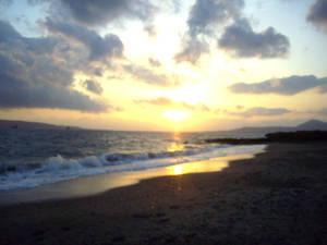 Sunset in Monemvasia-Greece