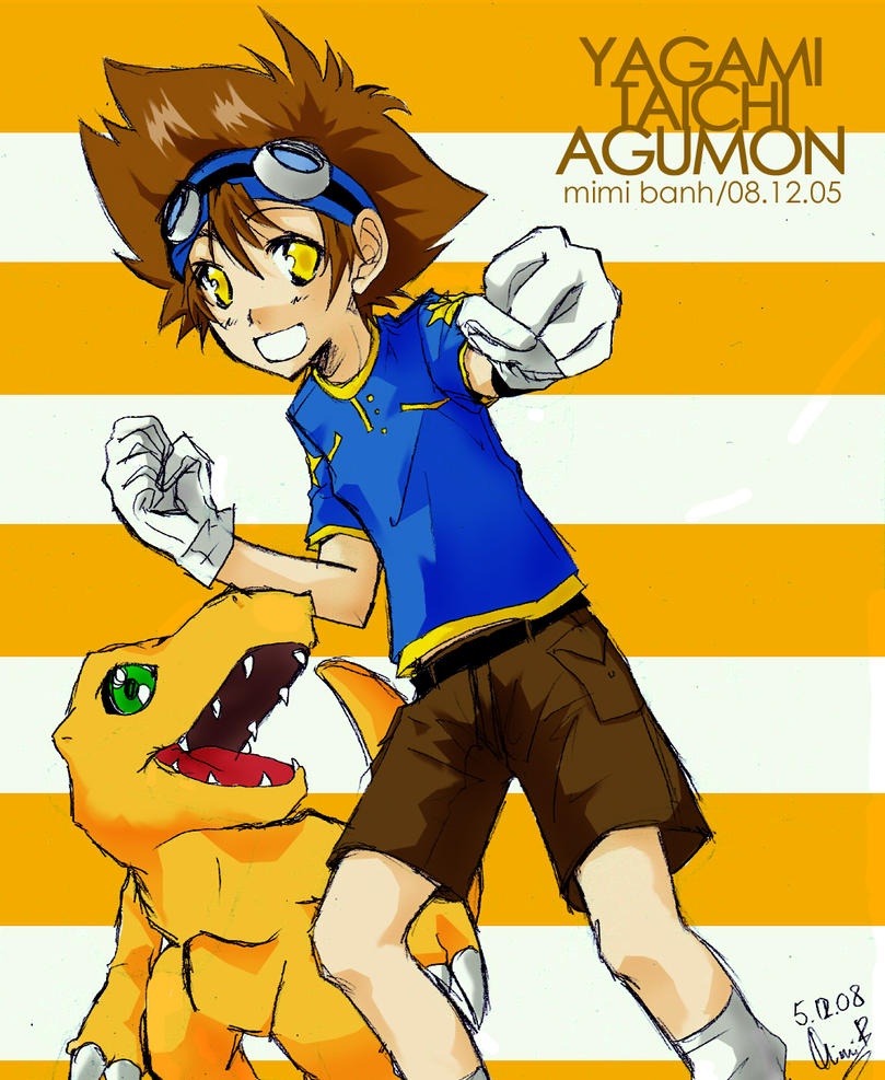 Digimon: Yagami Taichi by Kokoruri