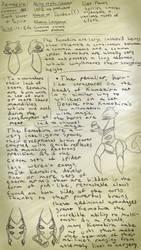 Floraverse Species - Kumokira by dorianator