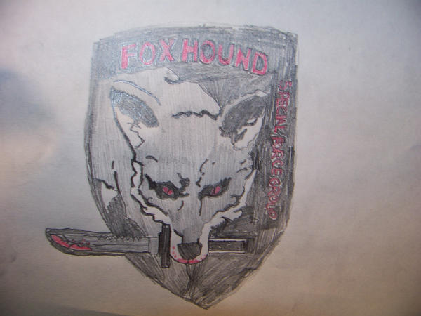Foxhound Logo For Airsoft By Emo Ozzy
