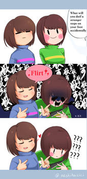 [[Undertale]]  What will you do ?