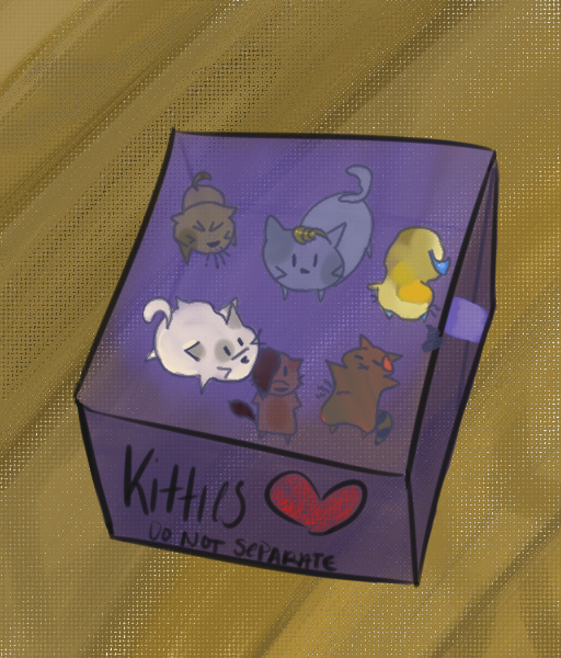 Lets All Be Kitties by Pikapillow