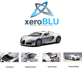 XeroBlu Splash Page by XeroBlu
