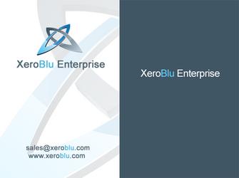 XeroBlu Business Card by XeroBlu