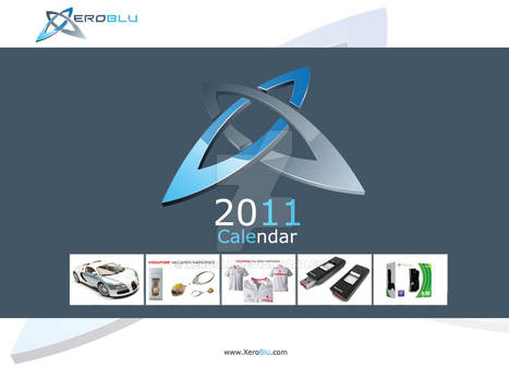 XeroBlu Calendar Front Only