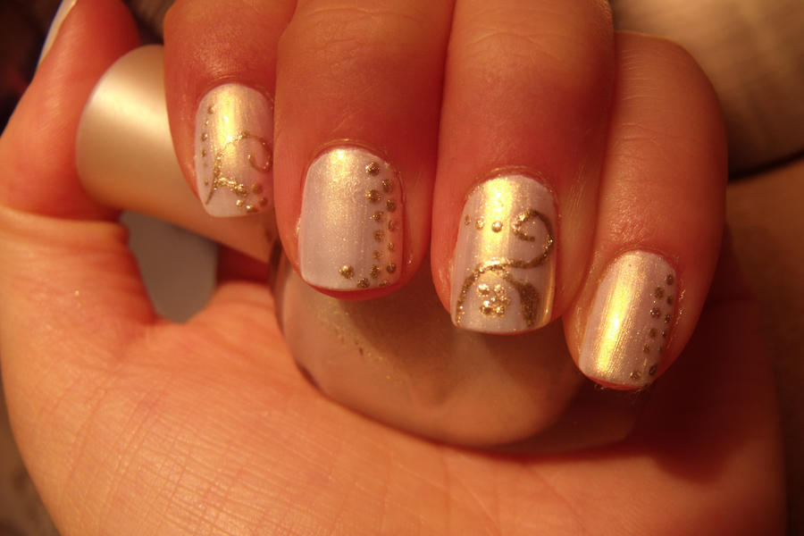 subtle variations of gold nail art by Pttcrab on DeviantArt