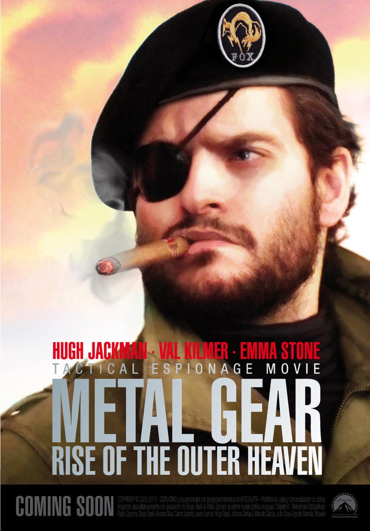 MetalGear: Rise of the Outer Heaven by diegotapie