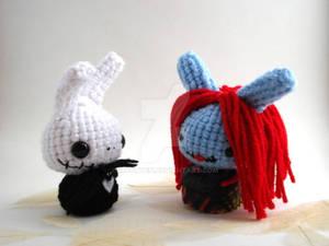 Jack and Sally Moon Buns