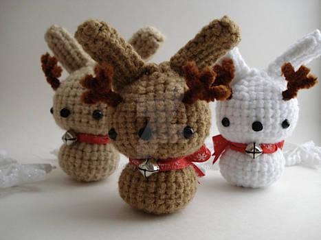 Reindeer Moon Buns