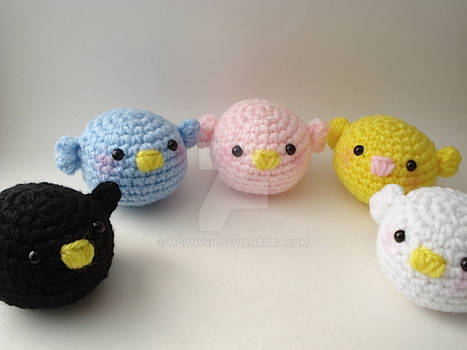 Redesigned Baby Birds